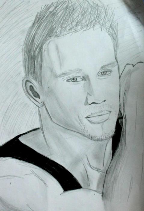 Channing Tatum by Vinnysv